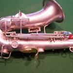 Image of custom Conn Saxophone work