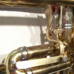 Image of custom work on a trumpet
